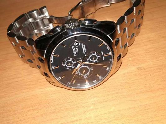 часы tissot t035627a - YouTube
