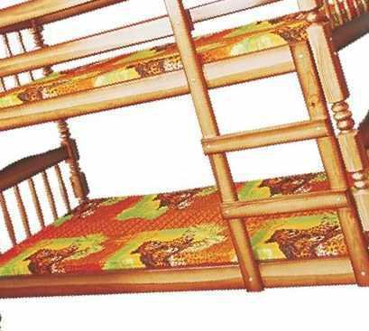 """Двухъярусная кровать """"Людмила-люкс-1"""", цена 9900 руб. - Кровати, диваны и кресла в Ясенской"""